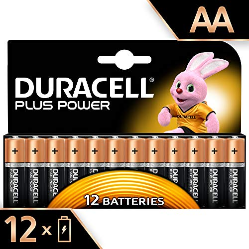 Duracell Plus Power Alkaline AA Batterien, 12er Pack -