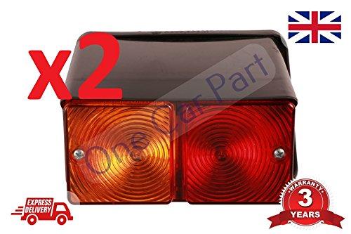 Paar 2610361040004610500056007700Traktor 550Bagger Rücklicht Lampe