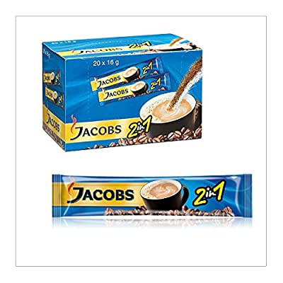 240 STICKS x JACOBS 2in1 INSTANT COFFEE SINGLE SERVINGS FRESH STOCK WHOLESALE UK by JACOBS