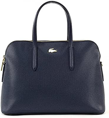 LACOSTE Chantaco Small Bugatti Bag Peacoat