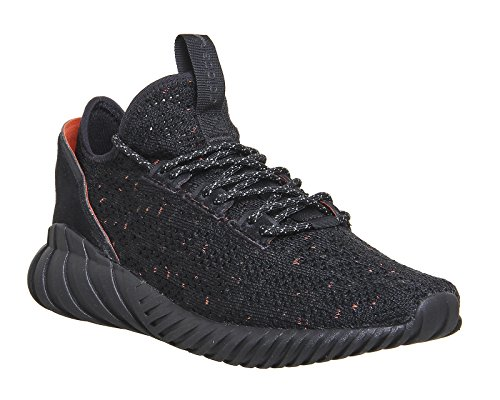 adidas Tubular Doom Sock Primeknit, Baskets Hautes Homme Noir (Core Black/Core Black/Trace Olive)