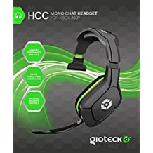 Gioteck - Headset Chat Mono Con Cable HCC (Xbox 360)