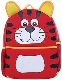 DonDon Rucksack Kinderrucksack für Mädchen und Jungen mit Tiermotiven 33 x 26 x 13 cm preisvergleich bei kinderzimmerdekopreise.eu