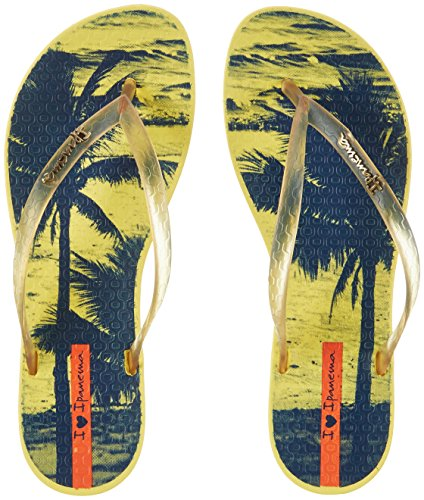 Ipanema - Ipanema Wave Tropical Fem, Infradito Donna Mehrfarbig (yellow/yellow)