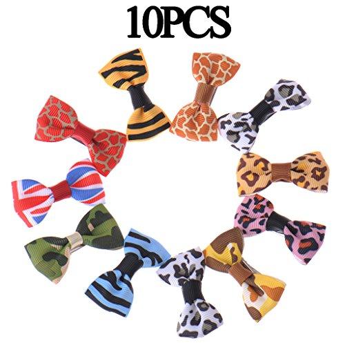 Artikelbild: Bögen süß Hundeschmuck Haarschleifen mit Gummiband Hundesalon Haarbögen Zubehör für Haustier Hunde Katze Welpen 10/20/50/100er Set