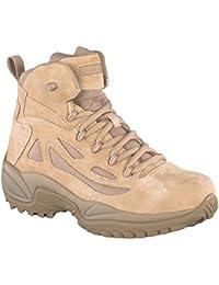 Reebok Mens Rapid Response 6-Inch Side Zip Boots - Tan, 7 UK (