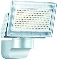 Steinel LED-Strahler XLED Home 1 Slave silber, ohne Sensor, 12 W, 920 lm, schwenkbares LED Flutlicht, vernetzbar