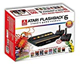 Atari Flashback 6 Deluxe Collectors Edition Exclusive 100 Games Built In Plus 2 extra Classic Controllers by Atari