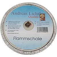 160 x 25 mm Partykerze rund Tischkerze OLShop AG 5er Pack Partylichter//Flammschale Assiette Andreas Licht je ca