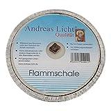 OLShop AG 5er Pack Partylichter/Flammschale Assiette Andreas Licht je ca. 160 x 25 mm Partykerze rund Tischkerze