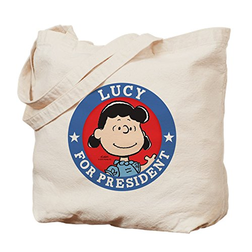 Bag Cafe Tote Press (CafePress Tote Bag - Lucy for President - Peanuts Tote Bag by CafePress)