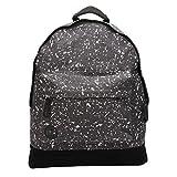 Mi-Pac Classic Backpack | Water Resistant Rucksack | Splattered Back/White