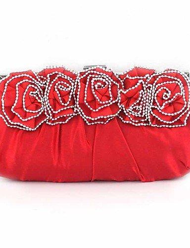 Da Wu Jia Ladies borsetta di alta qualità delle donne di lusso elegante high-grade Rose (Anello Fiore Crystal Rose)