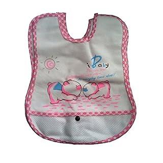 20 Pack Waterproof Baby Bibs Newborn Boys Girls Toddler Wholesale Bib Bundle New (20 Pack Pink)