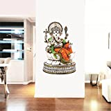 #10: SYGA Multicolor Lord Ganesha Decals Design Wall Stickers