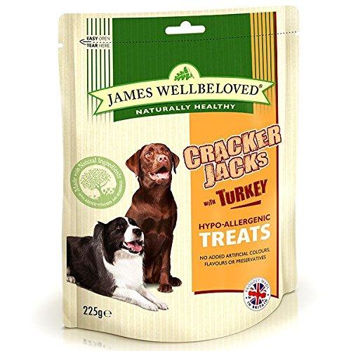 james-wellbeloved-cracker-jacks-dog-treats-turkey-225g