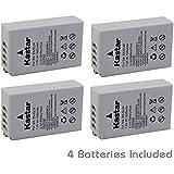 [Fully Decoded] Kastar EN-EL24 Battery (4-Pack) For Nikon EN-EL24 ENEL24 Rechargeable Li-ion Battery Work With Nikon 1 J5 Camera