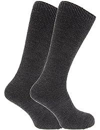 FLOSO - Chaussettes hautes thermiques (2 paires) - Homme