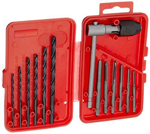 Vermont American 2169813High Carbon Stahl Tippen Bit und Bohrer SET mit Kunststoff-Fall -
