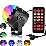 LEEGICST Stroboskope für Lichttechnik,Discokugel LED Party Disco Licht Musik Lichteffekt,