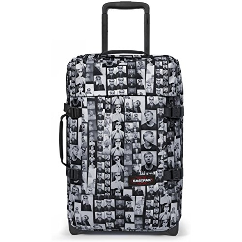 Eastpak - Equipaje de Mano Gris Andy Warhol Photobooth Check-in