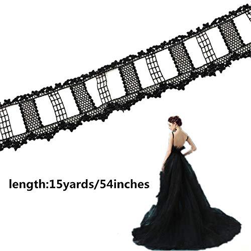 Bridal Lace Jacke (TONKOW Spitzenbesatz Stickerei-Applikation Stoff-Patches Patch Aufkleber Für Handwerk Kleidung Applique Shirt Stickereiflecken Jacken Tierpflaster)