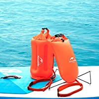 Flotador de natación,boya de seguridad natacion para natación y bolsa seca para nadadores de aguas abiertas,triatletas,kayakers y buceadores para entrenamiento seguro de natación de Beatie