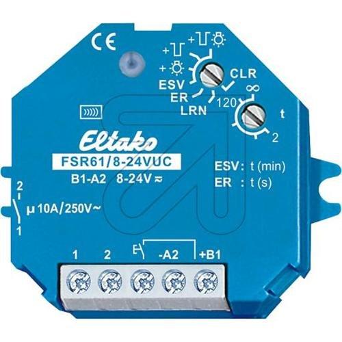 ELTAKO FSR61/8-24VDC - ACTUADOR VIA RADIO TELERRUPTOR