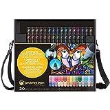 Color Tones 30 Pens & Case