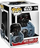 FunKo 13920 – Pop Vinyl Star Wars Darth Vader W/Tie Fighter Figure 176, 10 cm