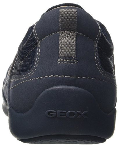 Geox U Summer Cart, Basses Homme Bleu Marine
