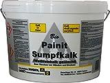 Sakret Kalkfarbe Allergikergerecht 100% Bio Sumpfkalk.10 Liter Antischimmel Frei von Konservierungsstoffen