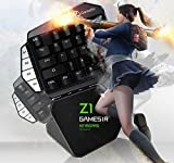 YMNL Wireless Game Controller, Keyboard Base 2 In 1 for Jedi Survival Games Support Mobile Phones and Pcs, One-Hand-Operation