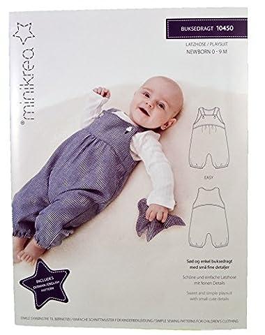Schnittmuster Latzhose für Neugeborene & Babys / Gr. 50-74cm / 1x0450