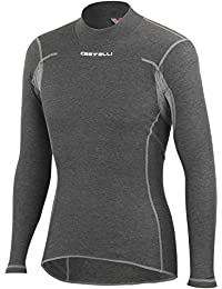 Castelli - Flanders Warm Long Sleeves, color gris, talla M