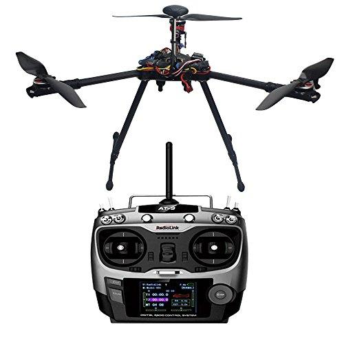 Generische DIY Tricopter Drohne Flugzeug Aktualisierten montiert Combo: HMF Y600 3 Achse Frame, APM2.8 Flug Controller Built-in Compass , 6M GPS ,2-6S 30A ESC,Bürstenloser Motor ,Sender und Empfänger für FPV Mehrachsen Multirotor (Nicht enthalten Akku und Ladegerät und Kamera-Gimbal)