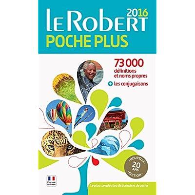 Dictionnaire Le Robert de poche plus 2016