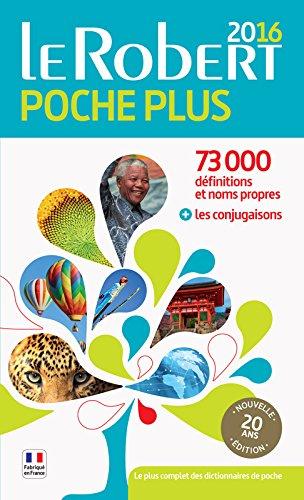 Dictionnaire Le Robert de poche plus 2016 par Collectif