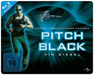 Pitch Black - Planet der Finsternis - Limited Quersteelbook [Blu-ray]