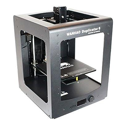 Wanhao D6C Duplicator 3D-Drucker mit Abdeckungen - Alles was Sie brauchen um 3D-Drucke zu machen sind enthalten - gestochen scharfes Display - Top Extruder Speed