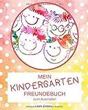 Mein Kindergarten Freundebuch zum Ausmalen: Dein Kindergartenfreundbuch mit extra Seiten für die Erzieher | Design: getupft rot