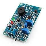 Alarma DC12V 0-20S piroelectricidad retardo PCB Circuito Módulo Verde