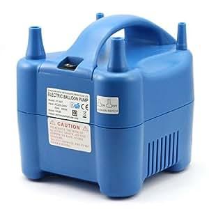 SainStyle Pompe à ballon Electrique Portable Insufflateur DEUX Nozzle Electrique Balloon Pump Inflator Blower Party 220V 600W