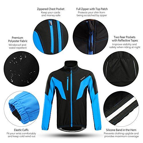 Zoom IMG-1 tomshoo abbigliamento ciclismo invernale uomo