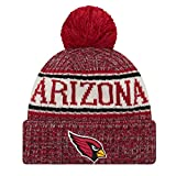 New Era ONF18 Sport Knit Bommelmütze Arizona Cardinals Rot, Size:ONE Size