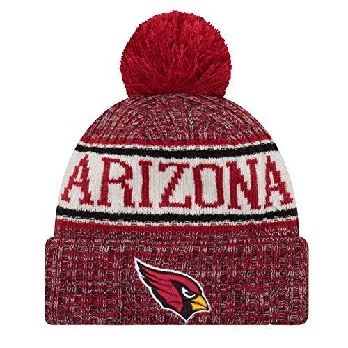 Knit Bommelmütze Arizona Cardinals Rot, Size:ONE Size ()