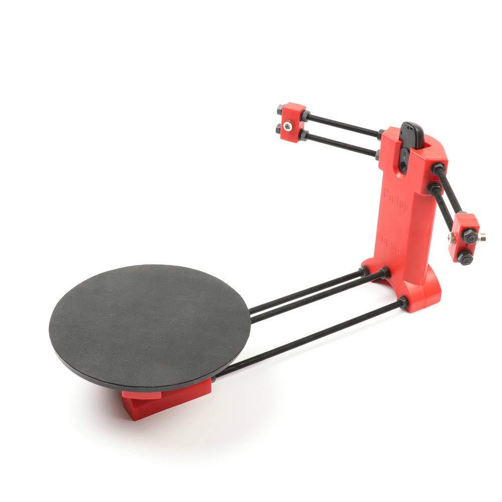 HE3D Open source ciclop DIY laser 3d scanner kit pour imprimante 3d, concepteur et ingénieur DIY scanner de base 3D kit