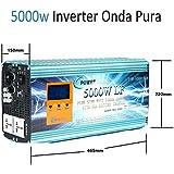 Inverter Pure Wave 5000w Onda Pura Convertidor 12V to AC 220V+LCD+Cargador