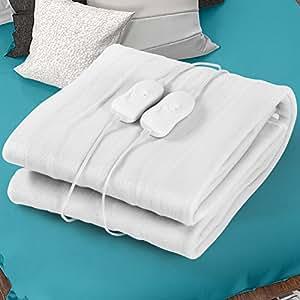 jago couverture chauffante chauffe lit matelas 150 x 180 cm 2 niveaux de temp rature taille. Black Bedroom Furniture Sets. Home Design Ideas