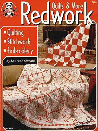 Redwork Quilts & More: Quilting Stitchwork Embroidery -